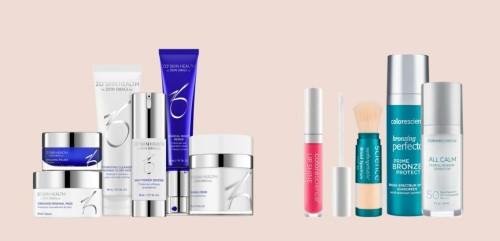 Digital shopping av ZO Skin Health og Colorescience!